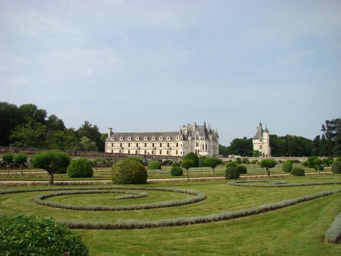 Garden view Château de Chenonceau